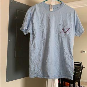 Delta zeta sorority bid day tshirt